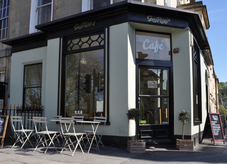 Green Rocket Cafe Bath